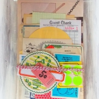 Feature Friday - Vintage Kitchen Cooking Scrap Pack