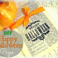 DIY - Happy Halloween Pages