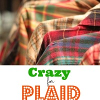 Crazy For Plaid DIY's