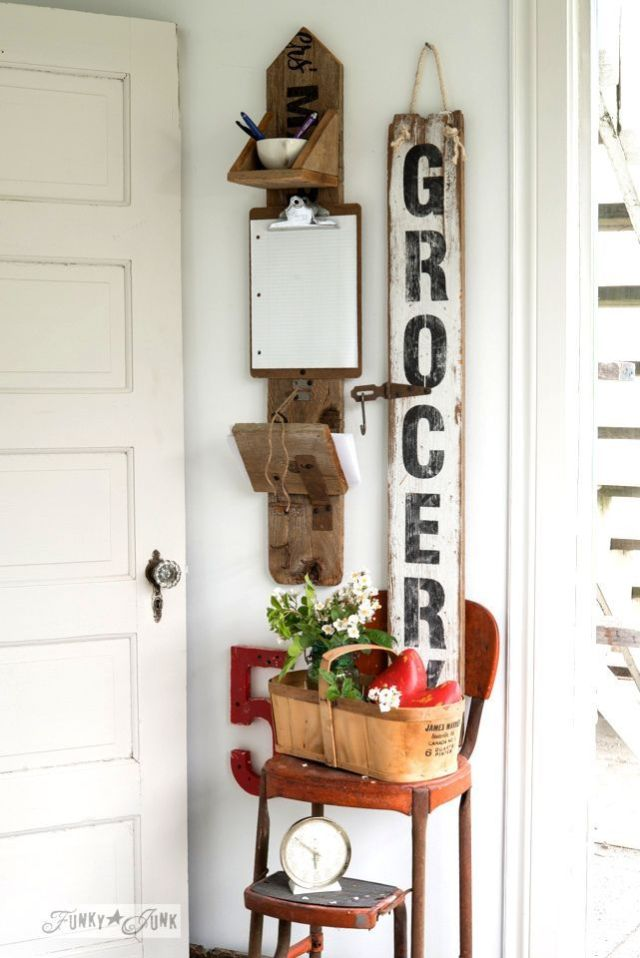 grocery sign diy
