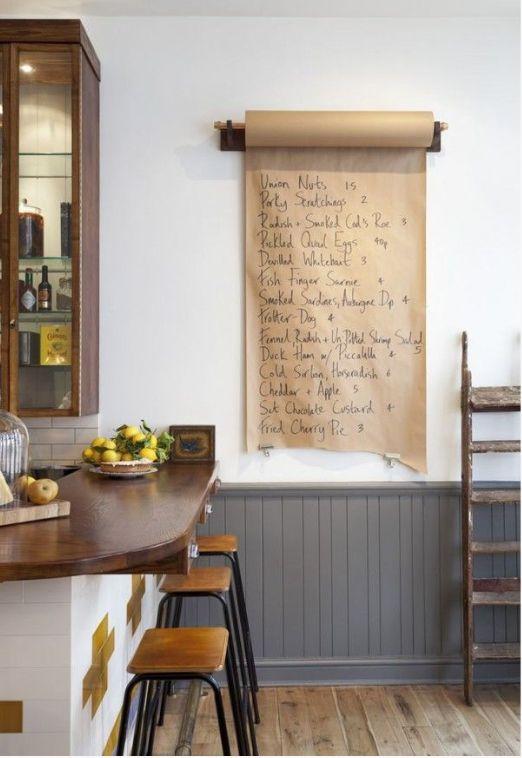 paper message board
