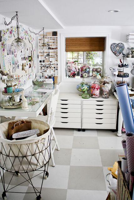 white craftroom