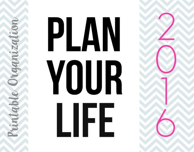plan your life 2016
