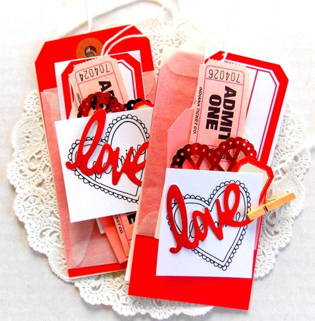 mini love tag kit